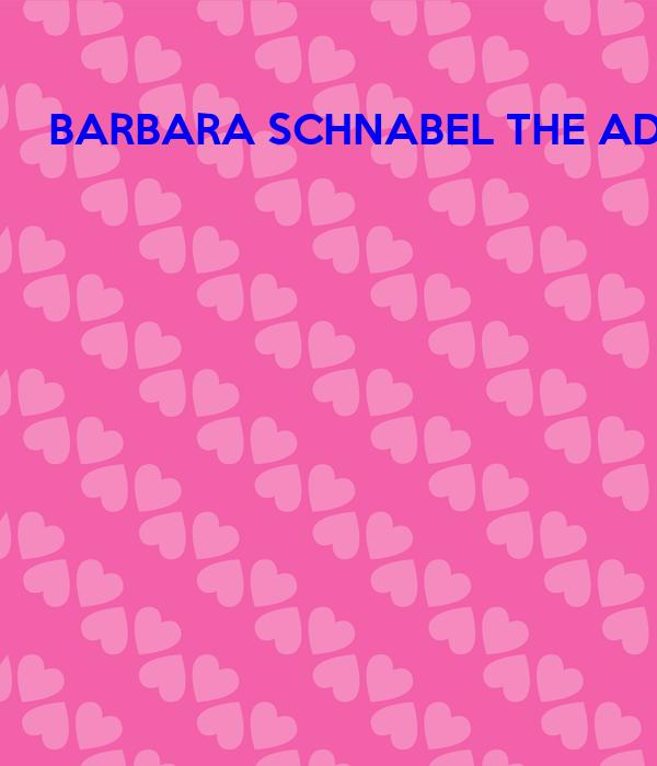BARBARA SCHNABEL THE AD PRO