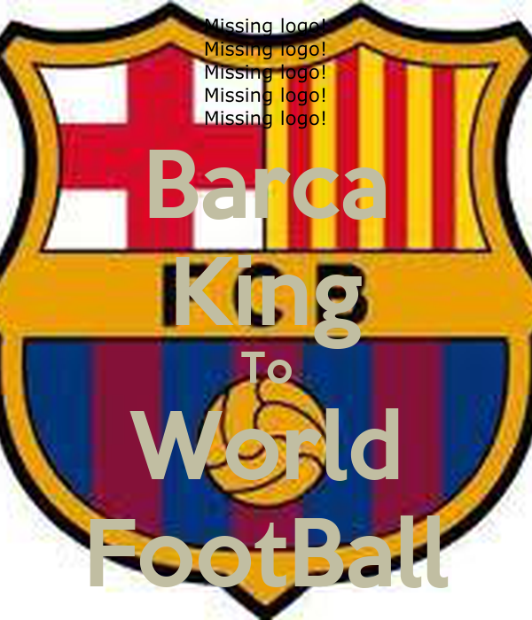 Barca King To World FootBall