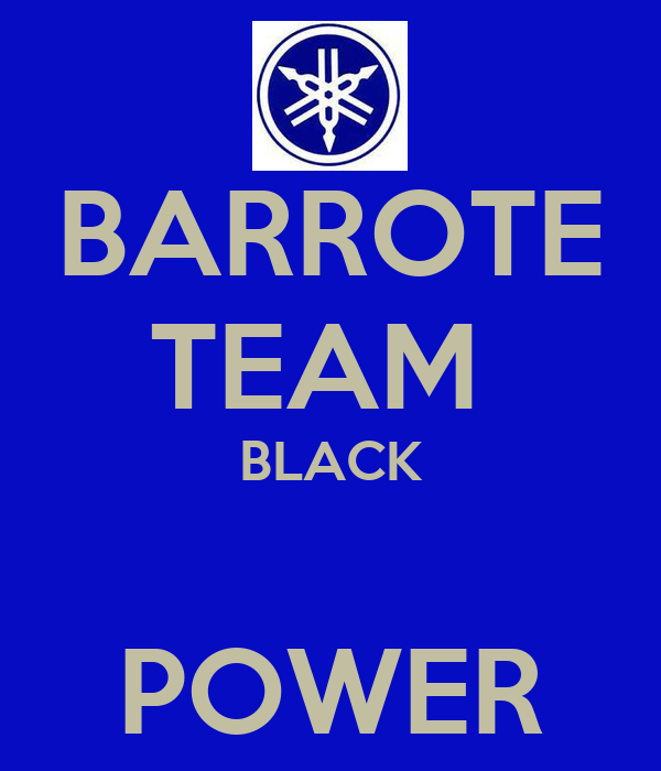BARROTE TEAM  BLACK  POWER