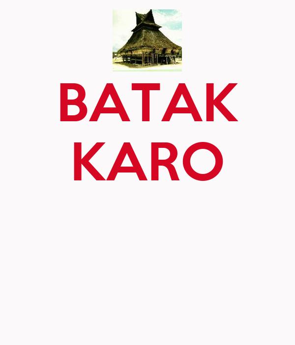 BATAK KARO