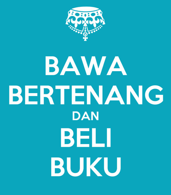 BAWA BERTENANG DAN BELI BUKU