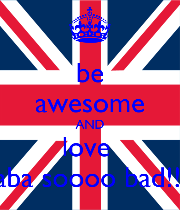 be awesome AND love  saba soooo bad!!!!