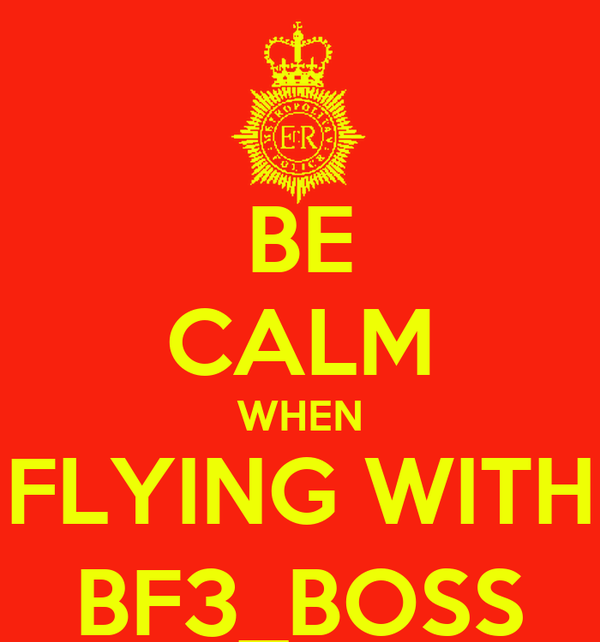 BE CALM WHEN FLYING WITH BF3_BOSS