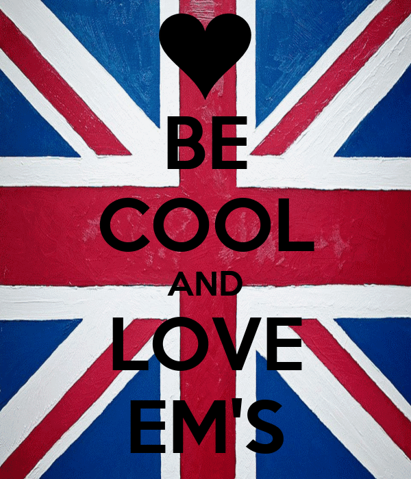 BE COOL AND LOVE EM'S