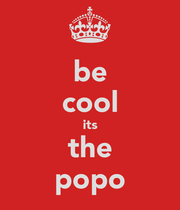 be cool its the popo