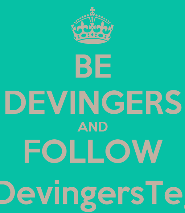 BE DEVINGERS AND FOLLOW @DevingersTegal