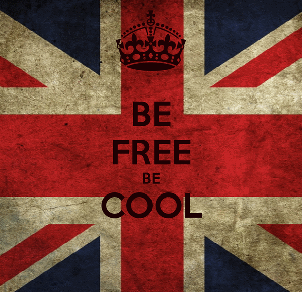 BE FREE BE COOL