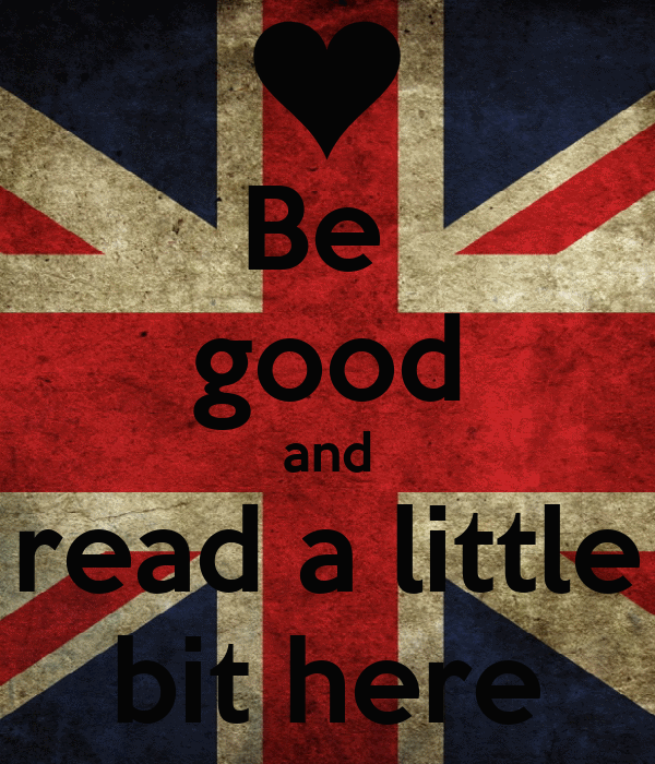 Be  good and read a little bit here