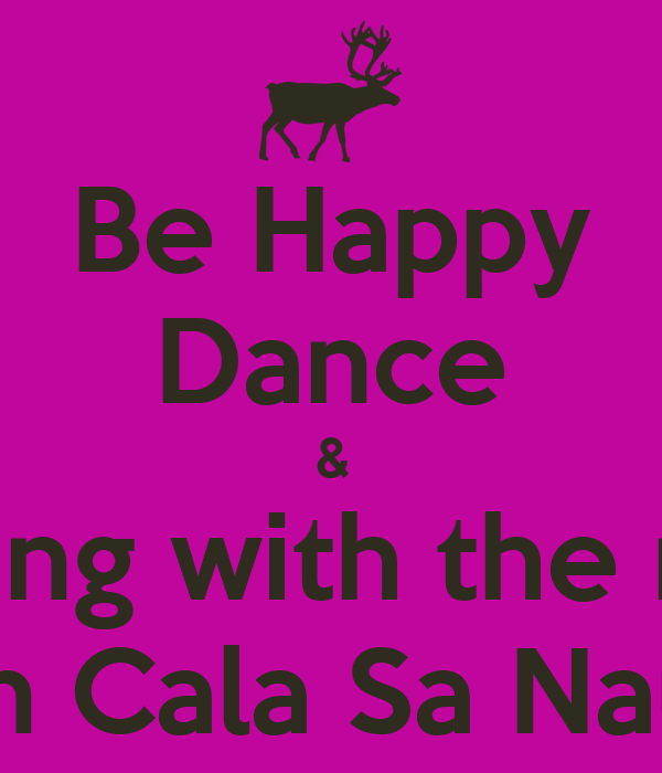 Be Happy Dance & relaxing with the music in Cala Sa Nau