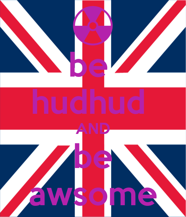 be  hudhud  AND be awsome