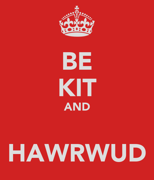 BE KIT AND  HAWRWUD