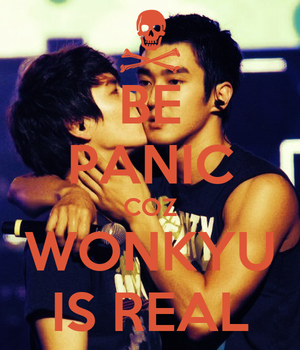 BE PANIC COZ WONKYU IS REAL