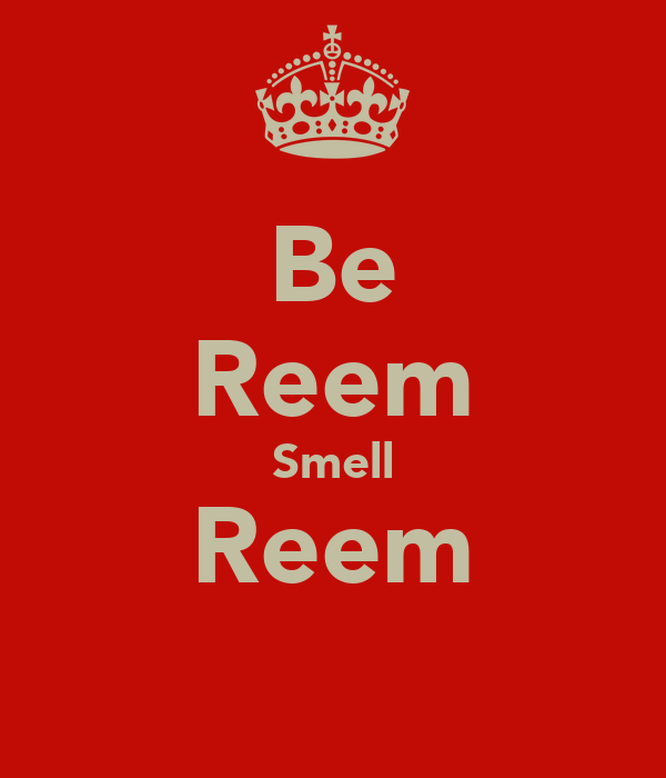 Be Reem Smell Reem