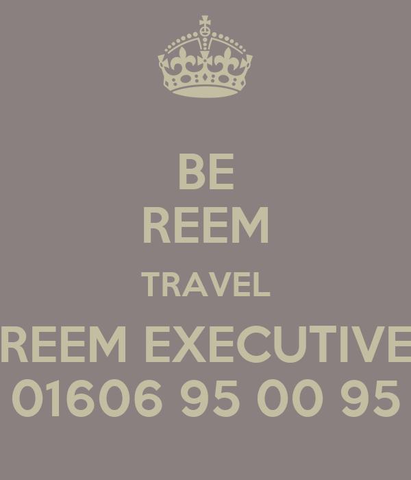 BE REEM TRAVEL REEM EXECUTIVE 01606 95 00 95