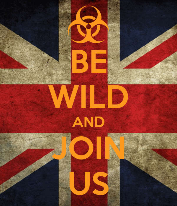 BE WILD AND JOIN US