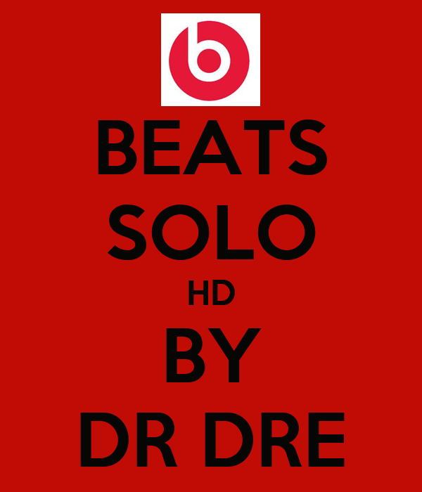 BEATS SOLO HD BY DR DRE
