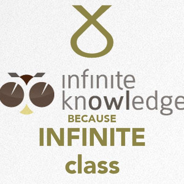 BECAUSE INFINITE class
