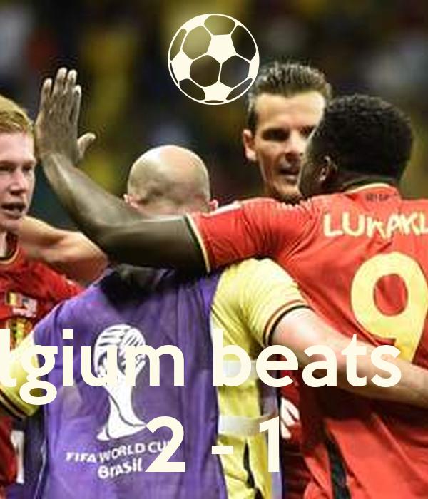 Belgium beats US 2 - 1
