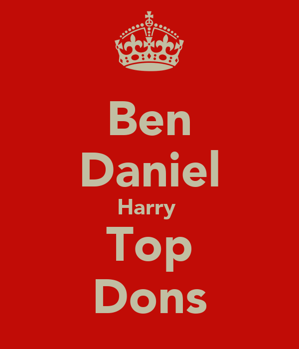 Ben Daniel Harry  Top Dons