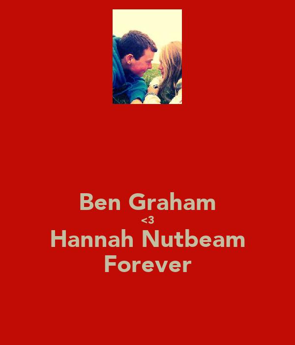 Ben Graham <3 Hannah Nutbeam Forever