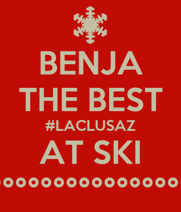 BENJA THE BEST #LACLUSAZ AT SKI °°°°°°°°°°°°°°°°°°