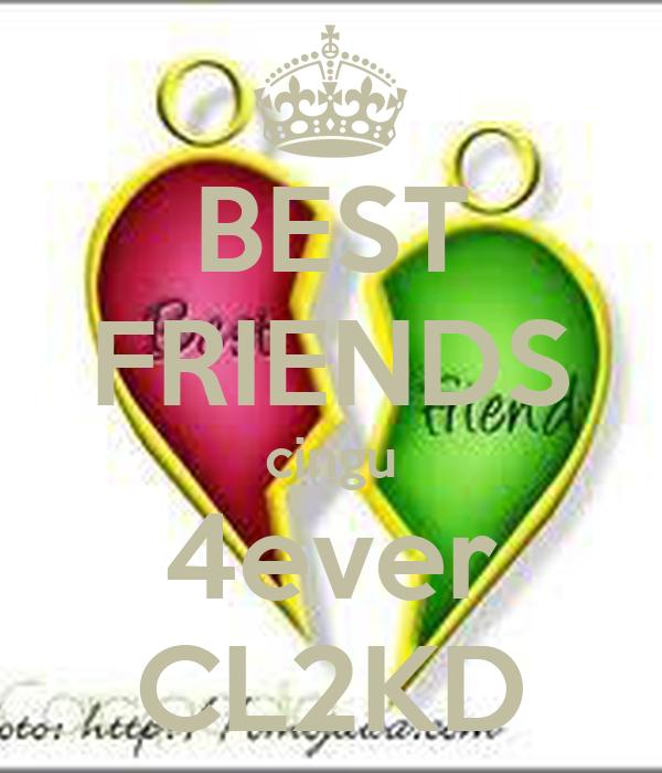 BEST FRIENDS cingu 4ever CL2KD