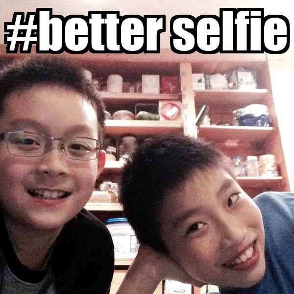 #better selfie