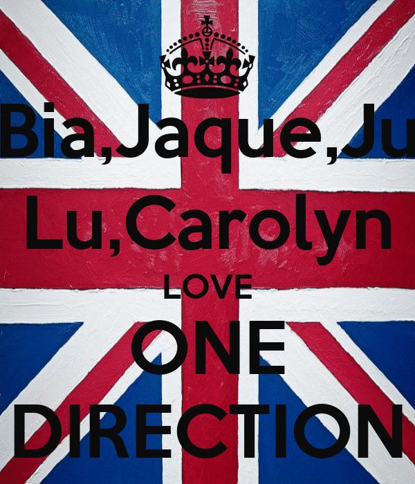Bia,Jaque,Ju Lu,Carolyn LOVE ONE DIRECTION