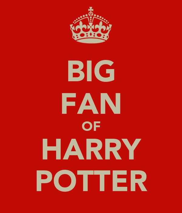 BIG FAN OF HARRY POTTER