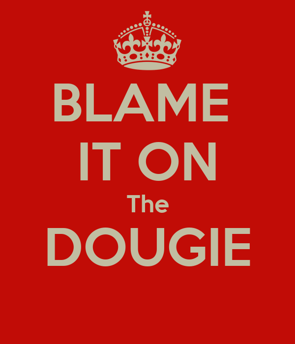 BLAME  IT ON The DOUGIE