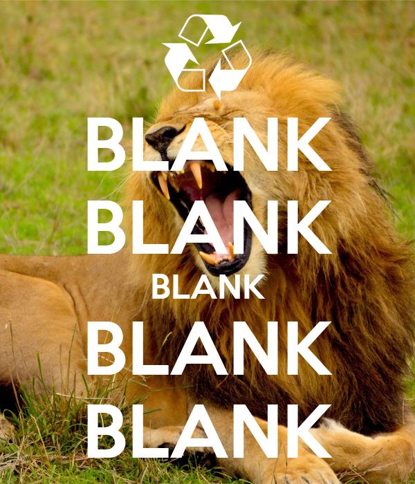 BLANK BLANK BLANK BLANK BLANK