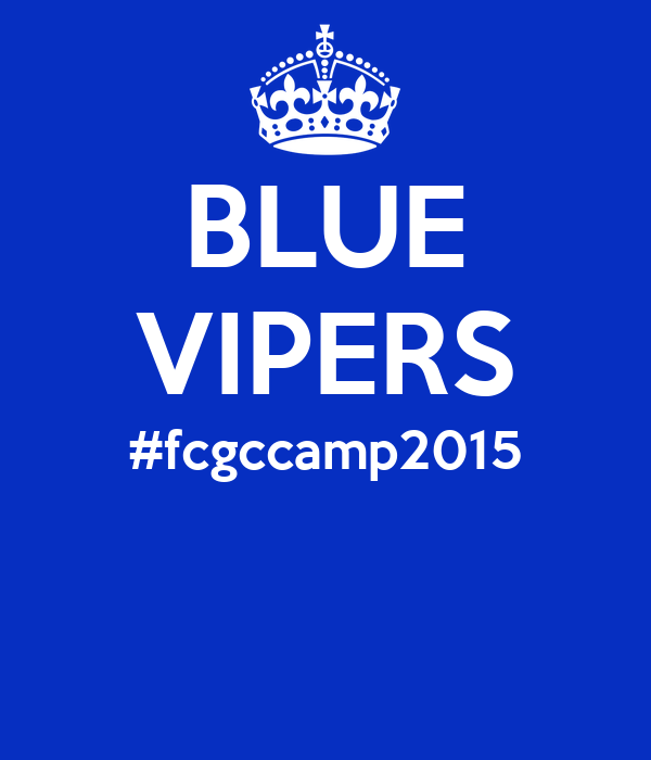 BLUE VIPERS #fcgccamp2015