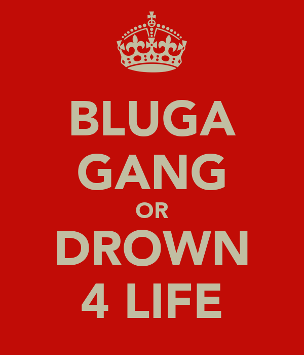 BLUGA GANG OR DROWN 4 LIFE