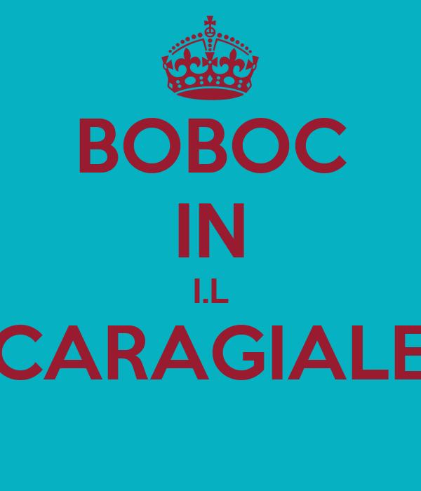 BOBOC IN I.L CARAGIALE