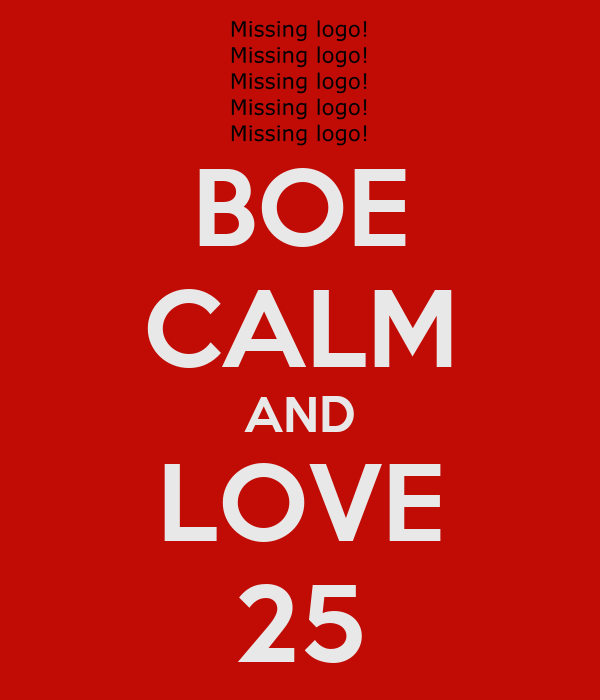 BOE CALM AND LOVE 25