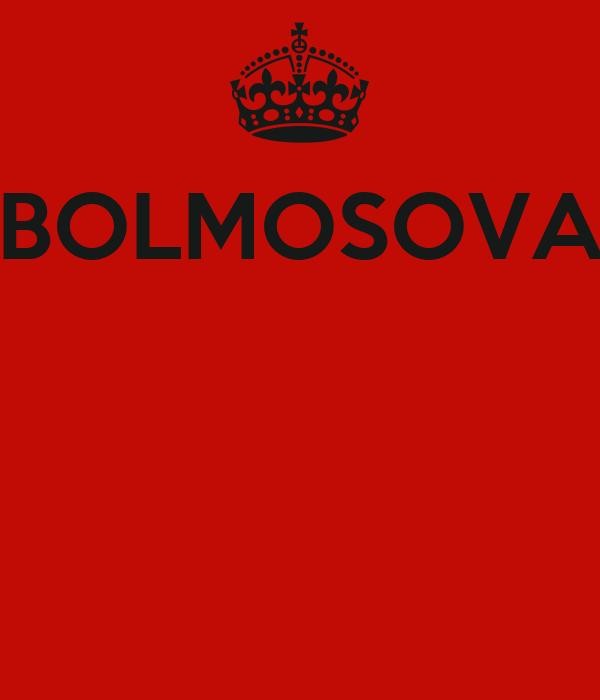 BOLMOSOVA