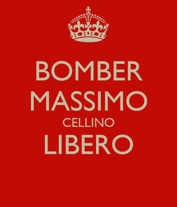 BOMBER MASSIMO CELLINO LIBERO