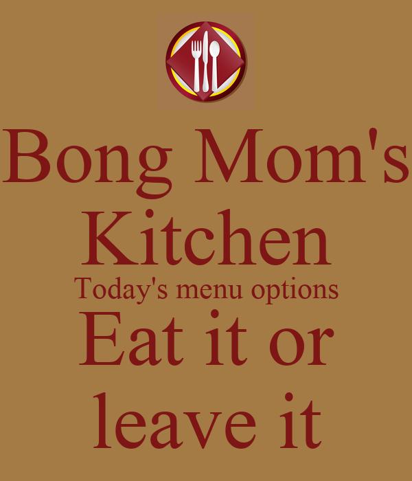 Bear Down Kitchen Menu