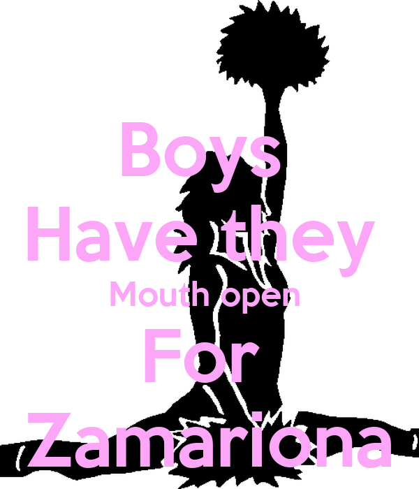 Boys  Have they  Mouth open  For  Zamariona