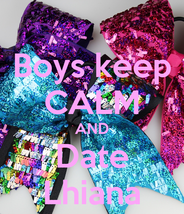 Boys keep CALM AND Date Lhiana
