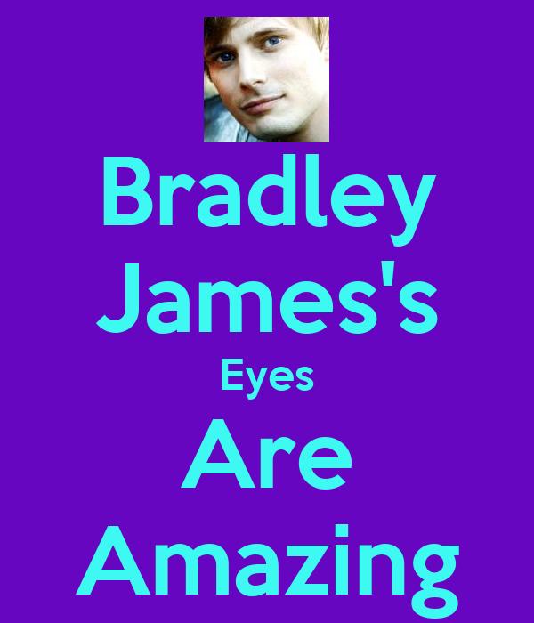 Bradley James's Eyes Are Amazing