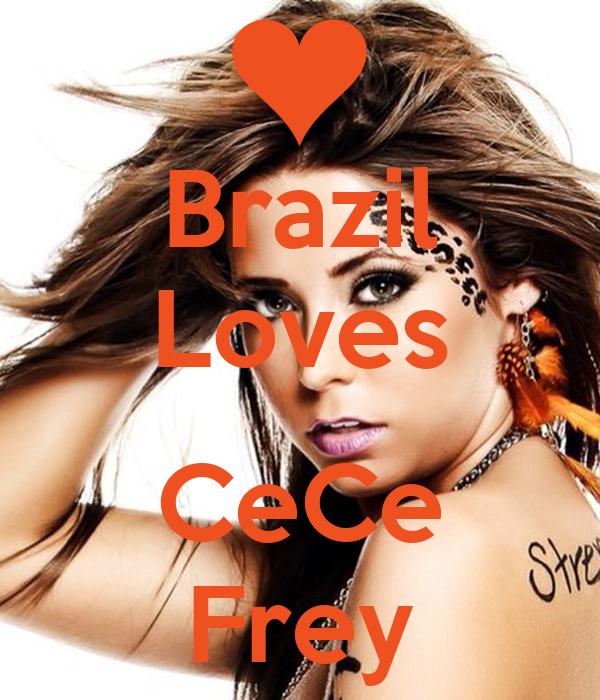 Brazil Loves  CeCe Frey