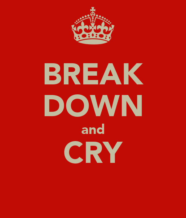 BREAK DOWN and CRY