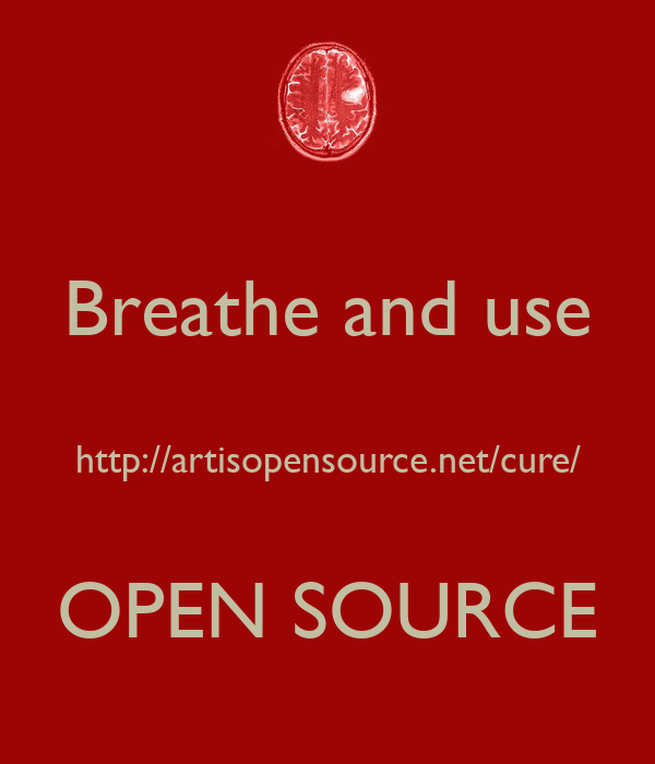Breathe and use  http://artisopensource.net/cure/  OPEN SOURCE