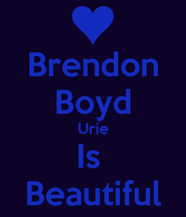Brendon Boyd Urie Is  Beautiful