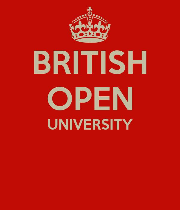 BRITISH OPEN UNIVERSITY
