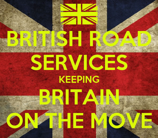 BRITISH ROAD SERVICES KEEPING BRITAIN ON THE MOVE