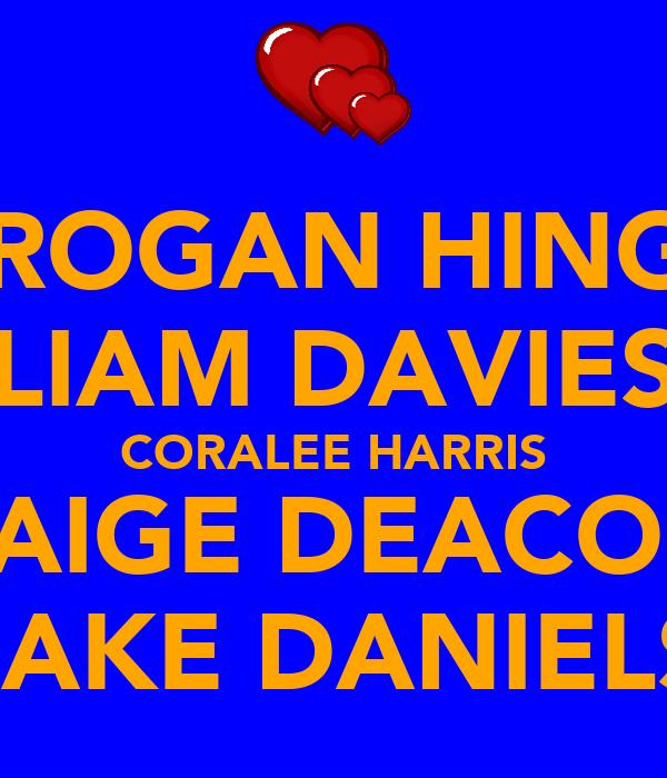 BROGAN HINGS LIAM DAVIES CORALEE HARRIS PAIGE DEACON JAKE DANIELS