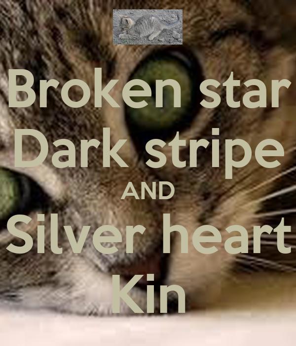 Broken star Dark stripe AND Silver heart Kin