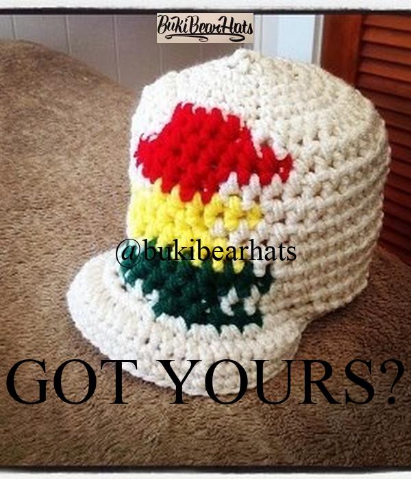 @bukibearhats  GOT YOURS?
